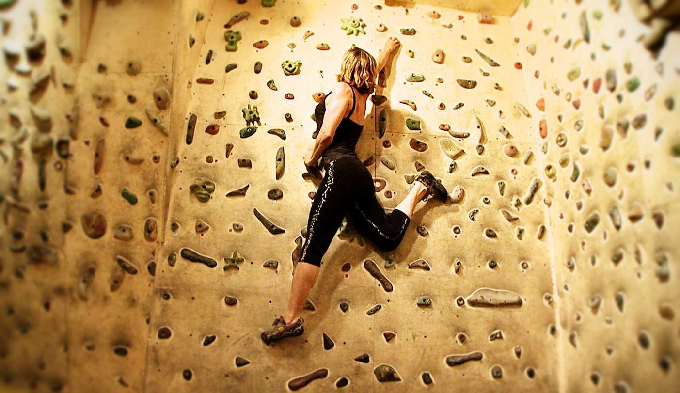 Video arrampicata